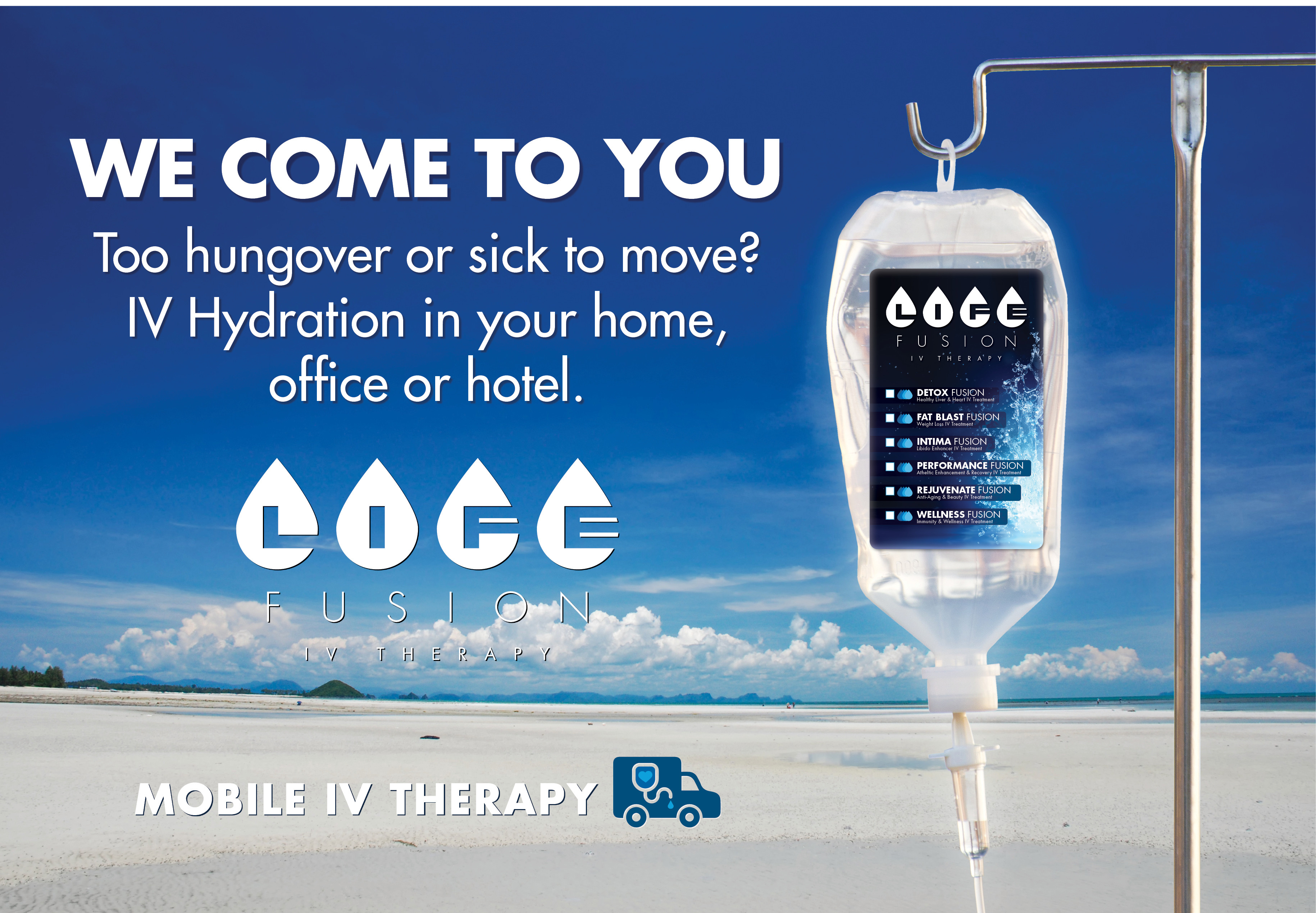 WeComeToYou-Mobile IV Therapy - Life Fusion IV Therapy